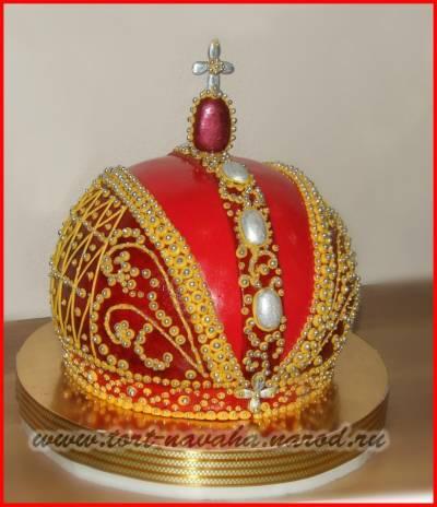 Торты корона фото